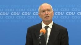 CDU wartet auf Entscheidung der SPD