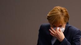 """Merkel: """"Wir müssen das britische Virus in den Griff bekommen"""""""