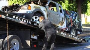 17 Leichen in brennenden Autos in Mexiko entdeckt