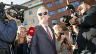 Robert O'Brien Anfang August in Stockholm in seiner Funktion als Sondergesandter für Geiselangelegenheiten