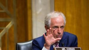 Krieg der Worte zwischen Trump und Corker eskaliert