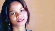 Wegen Blasphemie verurteilt und später freigesprochen: Asia Bibi
