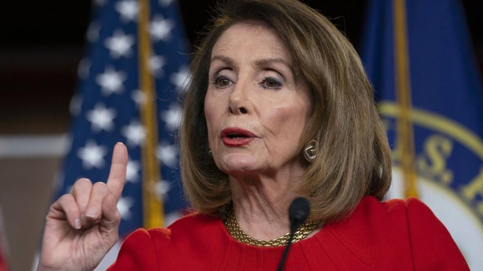 Nancy Pelosi, demokratische Sprecherin des amerikanischen Repräsentantenhauses
