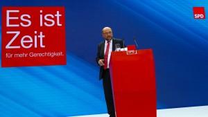 Noch schont die SPD Schulz