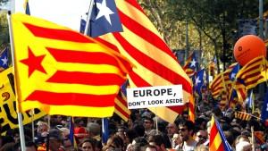Katalanische Souveränitätserklärung vorerst außer Kraft