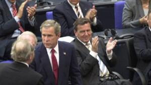 Bush sprach europäisch