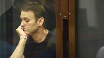Alexej Nawalny vor Gericht in Kirow