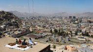 Blick auf das neue Kabul: Aus einem zerbombten Moloch ist eine Stadt von fast sechs Millionen Menschen geworden