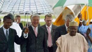 Deutschland interessiert sich wieder für Afrika
