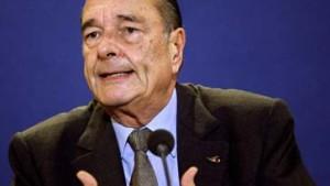 Warten auf Chirac