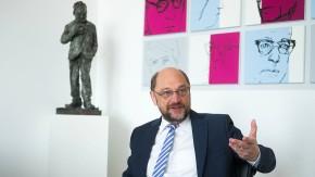"""Martin Schulz im F.A.Z.-Interview: """"Ich mache es wie Macron"""""""