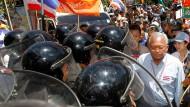 Zwei Tote bei Angriff auf Regierungsgegner in Thailand