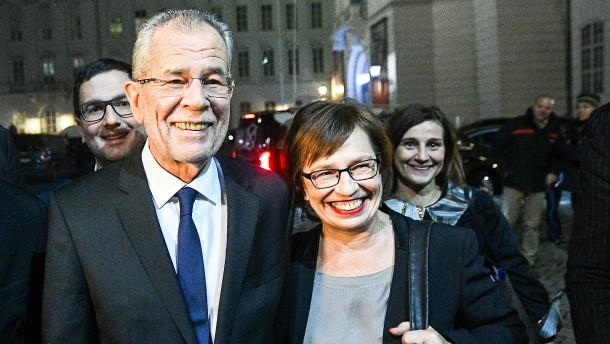 Van der Bellen wird Bundespräsident