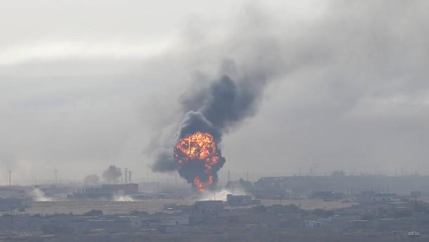 Türkei vermeldet Einnahme von kurdischer Grenzstadt