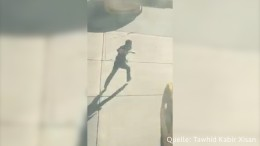 Auf der Flucht gestoppt