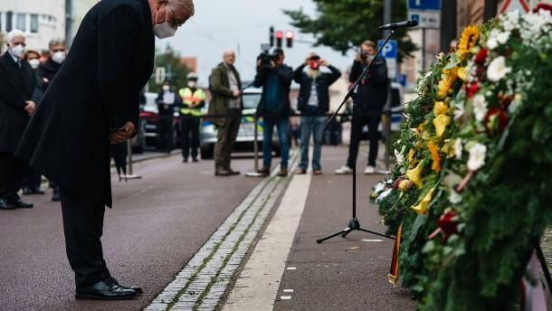 Steinmeier alarmiert über Ausbreitung des Antisemitismus