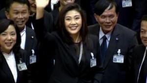 Rothemden feiern neue Premierministerin
