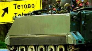 Armee greift UCK-Stellungen an