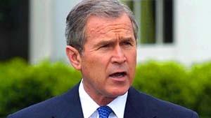 Bush droht mit Absage der China-Reise