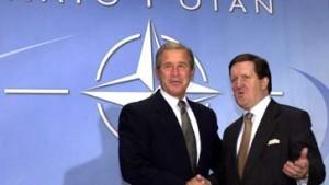 Bush wirbt für Raketenabwehr