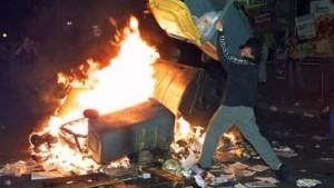 Werthebachs Widerstand gegen Demonstrationen