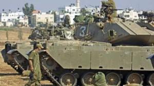 Israel bricht Vorstoß auf Palästinenser- Gebiet ab