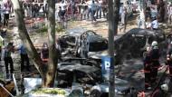 Bei dem Anschlag starben drei Menschen