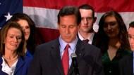 Der Erzkonservative Rick Santorum setzt seine Bewerbung um die Präsidentschaftskandidatur der US-Republikaner aus. Damit wird der Herausforderer von US-Präsident Barack Obama bei der Wahl im November wohl Mitt Romney heißen.