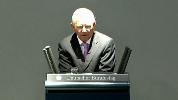 """Schäuble: Deutschland ist """"schockresistenter"""" geworden"""