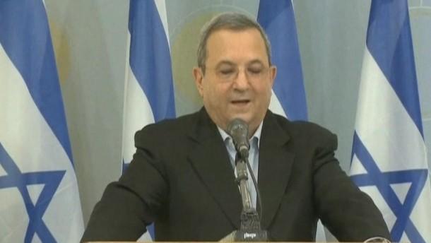 Barak zieht sich zurück