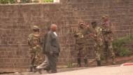 """Die Rebellen des """"M 23"""" haben mit dem Rückzug aus der ostkongolesischen Stadt Goma begonnen."""