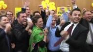 Nach Monaten im Umfragetief schneidet die Partei Prognosen zufolge sogar besser ab als bei der letzten Landtagswahl