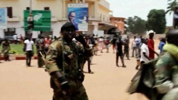 Putsch in der Zentralafrikanischen Republik