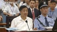 Prozess gegen Spitzenpolitiker Bo Xila hati begonnen