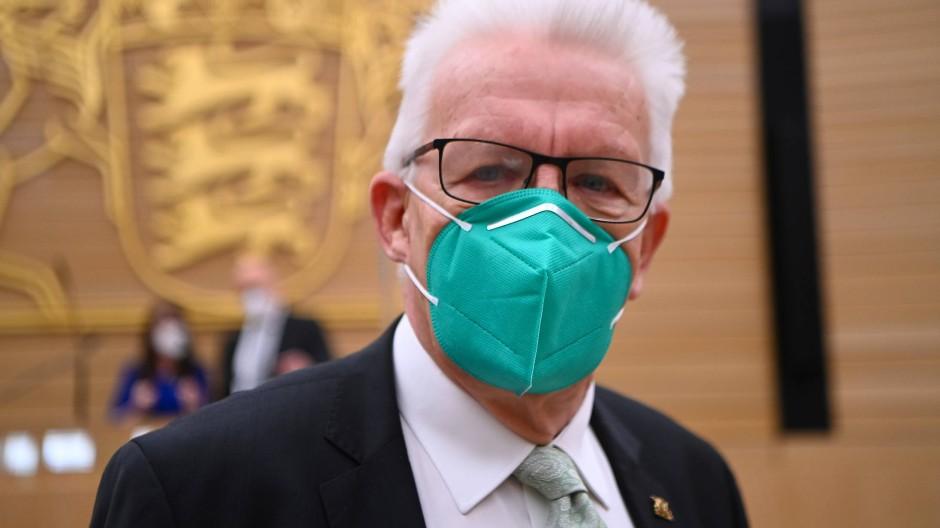 Erster grüner Ministerpräsident und schon zwei Mal wiedergewählt: Winfried Kretschmann