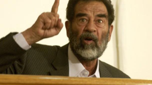 Der Prozeß gegen Saddam Hussein