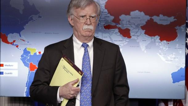 Warum Bolton mit Trump brach