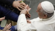 Papst Franziskus bei der Generalaudienz am Mittwoch im Vatikan