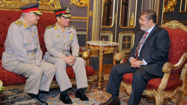 Egyptian President honors Major General Fakhri Galal Haridy to ge