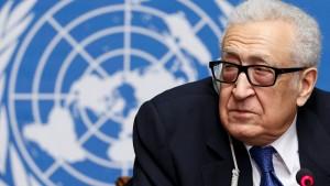Syrien-Sondergesandter Brahimi tritt zurück
