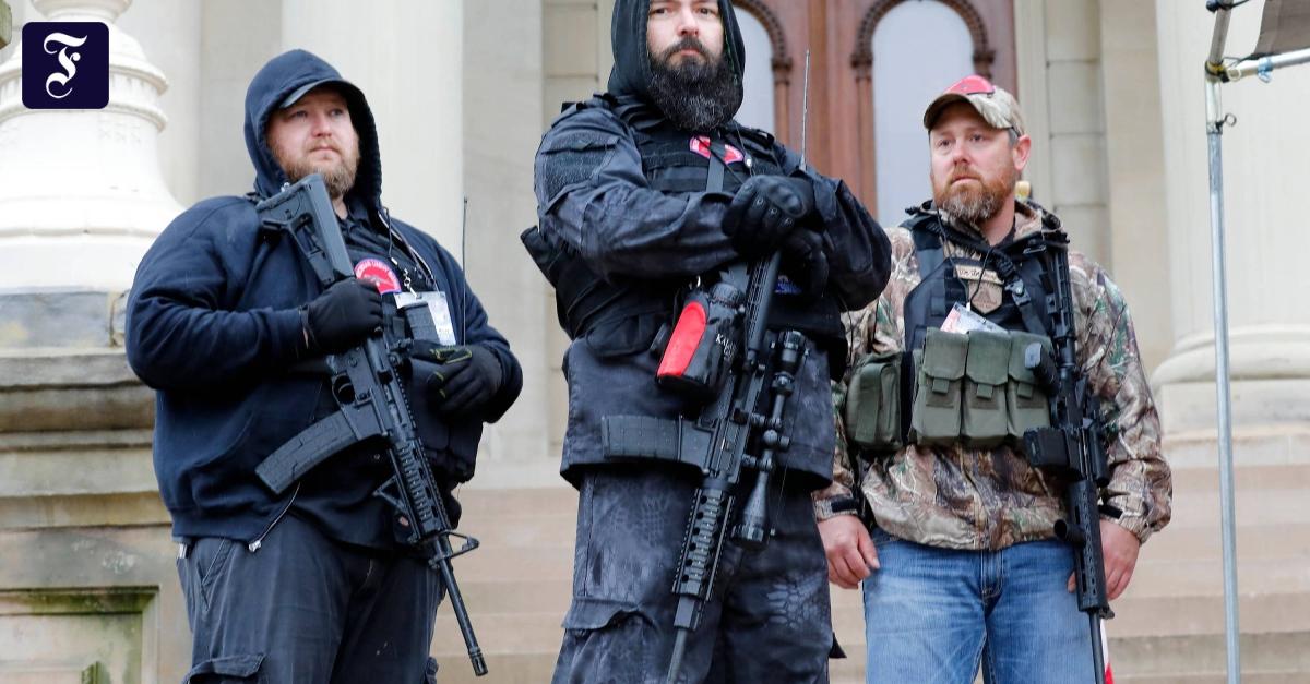 Militante Rechte: Sie träumen von einem Bürgerkrieg