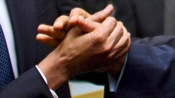 OAS-Gipfel in Trinidad & Tobago - Chavez und Obama
