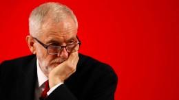 Labour-Partei suspendiert früheren Vorsitzenden Jeremy Corbyn
