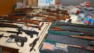 Elektriker hortet Waffen in privatem Bunker