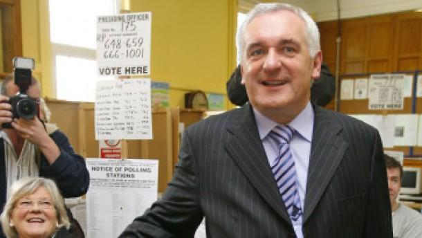 Erfolg für Ahern bei Parlamentswahl