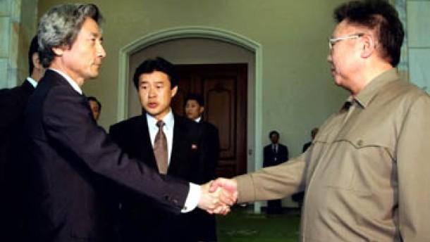 Nordkorea entschuldigt sich für Entführung von Japanern
