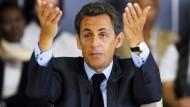 """Drohte dem Chefredakteur der """"Le Monde"""" schon einmal: Frankreichs Präsident Nicolas Sarkozy"""