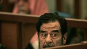 Saddam im Hungerstreik