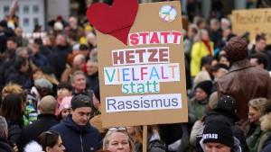 Appell gegen Spekulationen über Massenmord von Hanau