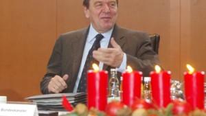 Schröder vernebelte und verlor